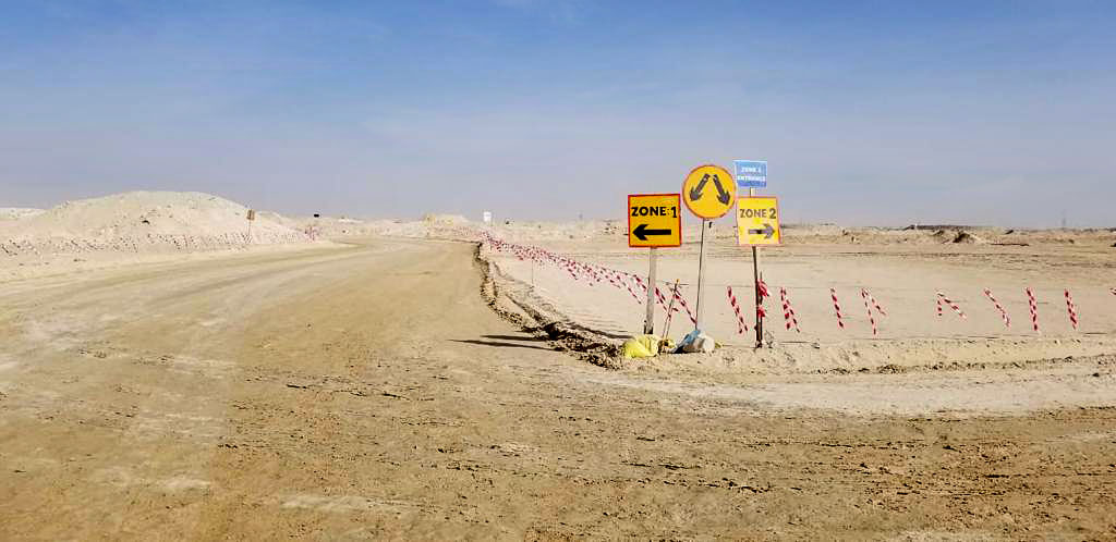 Contracting Company Abu dhabi - Logistic Road - Al Geemi Contracting
