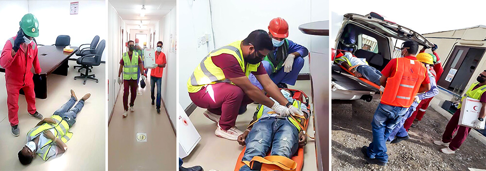 Al Geemi Contracting - Fire and Evacuation Drill - Razeen